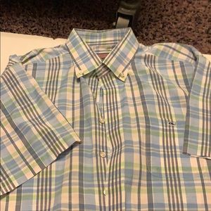 VINEYARD VINES SHORT SLEEVE BUTTON UP